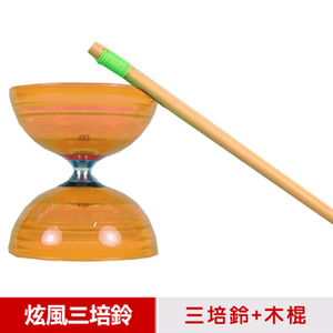 [TAITRA] [Suzuki] Sundia is produced in Taiwan - three times the top axis. (Plus a stick, a ball and a rope) orange