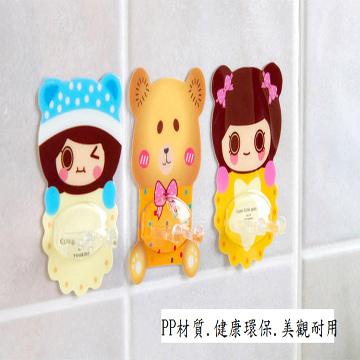 [TAITRA] Korean Creative Cartoon Seamless Toothbrush Rack (2 Pieces Set)