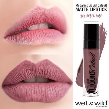 wet n wild cat girl Lasting Lip Glaze Velvet - Red Rose (6g)
