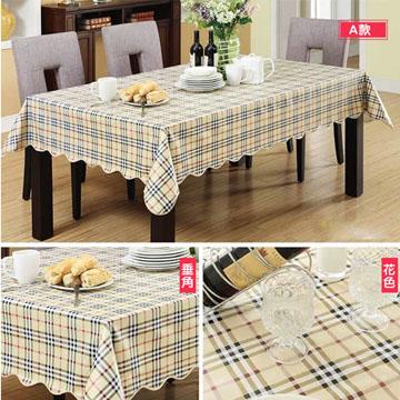 Disposable EVA garden style anti-oil waterproof tablecloth
