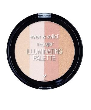 Wet n Wild MegaGlo Illuminating Palette เป็นได้ทั้งไฮไลท์ บลัชออนและบรอนเซอร์ (10g)