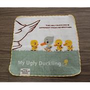 (Shinzi Katoh)Japan Shinzi Katoh Kato Shinji cartoon handkerchief - The Ugly Duckling