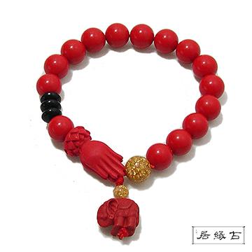 [TAITRA] 【Gu Yuan】สร้อยข้อมือลูกปัด เพื่อความเป็นสิริมงคล (10mm)
