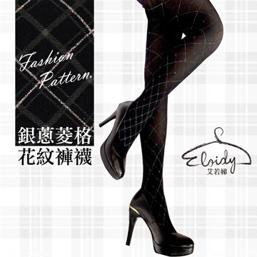 [TAITRA] Eloidy - Glitter Argyle Pattern - Pantyhose