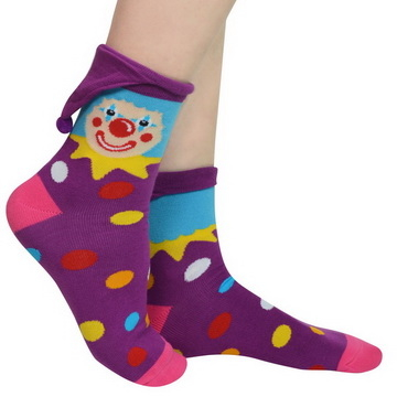[TAITRA] Happy Clown with Hanging Hat - Socks