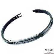 (MiGO)[MiGO] hand bracelet (black)