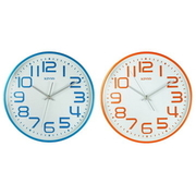 [TAITRA] [KINYO] นาฬิกาแขวนมาการองรุ่นเครื่องเดินเรียบเสียงเงียบตัวเลขใหญ่ 13 นิ้ว (CL-146)