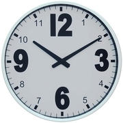 [TAITRA]  [Desrochers] นาฬิกาติดผนังรุ่นดีไซน์สวย สีดำขาว