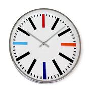 [TAITRA]  [Desrocher] นาฬิกาติดผนังสีรุ้ง เสียงเงียบ