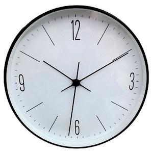 [TAITRA]  [Desrochers] นาฬิกาติดผนัง สไตล์คลาสสิค ตัวเลขสีดำขาว20ซม.