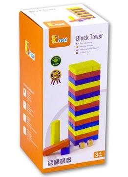 (VIGA)BLOCK TOWER 彩色積木疊疊塔 (หนังสือความรู้ทั่วไป ฉบับภาษาจีน)