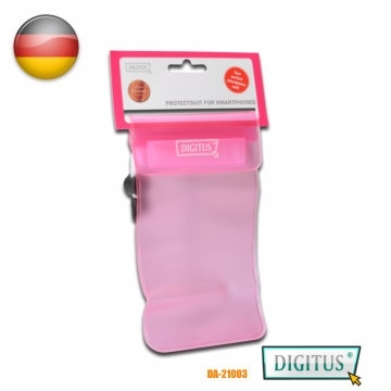 (DIGITUS)Yao trillion DIGITUS phone tablet waterproof dust bag pink (10 * 15 cm)