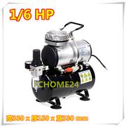 (AS186)AS186 1 / 6hp 3L oil-free miniature art air compressor / small air compressor / art oil-free air compressor