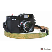 (theFoto)Korea theFoto washed leather camera strap (green)