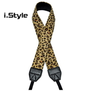 (i.STYLE leopard camera shoulder strap) i.STYLE leopard camera shoulder strap