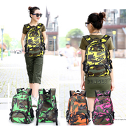 (DFBL)[] DFBL tide edition fashion camouflage nylon backpack after a total of four colors
