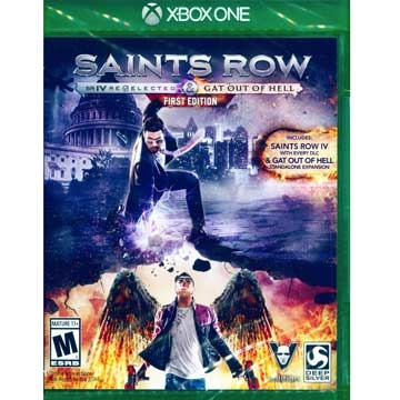 "XBOX ONE ""Saints Row 4: + escape the hell was re-elected first full version of"" English US version"