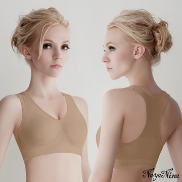 (Naya Nina)[Naya Nina] super-elastic support seamless word back no rims sports underwear (color)