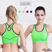 (Naya Nina)【Naya Nina】 covered with anti-shock workers back no steel ring sports underwear SL (green)