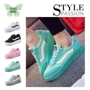 """(CASUAL GIRL)CASUAL GIRL """"Sunshine Girl"""" increased slip breathable casual shoes (green)"""