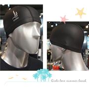 [TAITRA] หมวกว่ายน้ำ PU - สีดำ