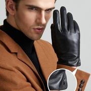 (ego life)[Ego life] lambskin plus velvet touch warm men's gloves