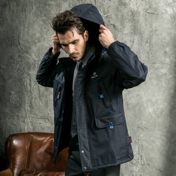 (Valentino Rudy). Valentino Rudy Valentino Di Road breathable waterproof hooded jacket function - husband sapphire blue +