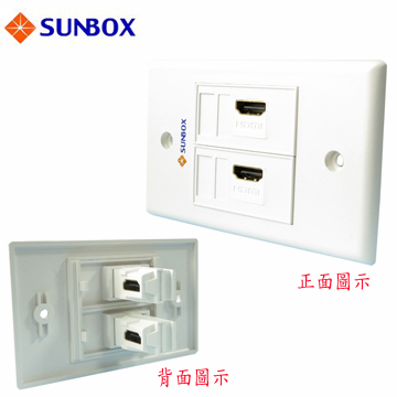 [TAITRA] SUNBOX HDMI Faceplate Outlet (WP-2HL)