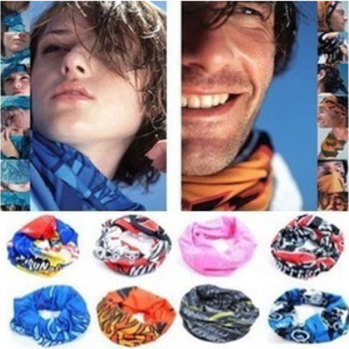 Cool Multi-function cycling road race sports style magic scarf