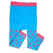 (juDanzy)US my little legs inside the ride _ cheap socks tights / slip socks _ little powder blue tights (954)