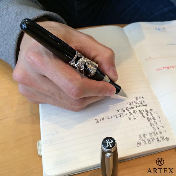 [TAITRA] ARTEX Legend Lucky Dragon Ballpoint Pen Gentleman Ash