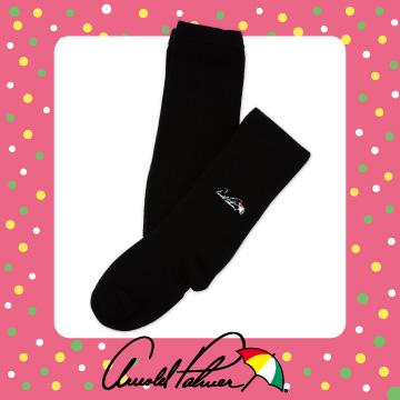 (Arnold Palmer)Arnold Palmer embroidered children warm tights - Black