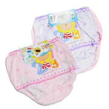 (一品川流)Butter Lion girls pants -2730-2 pcs package