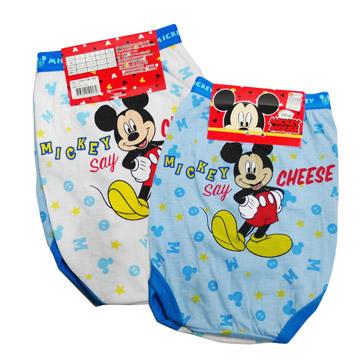 (一品川流)Mickey into two boys briefs