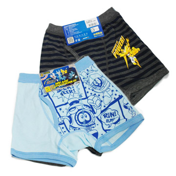 (一品川流)Sale No. boys boxers -2555-2 pcs