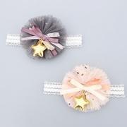 (UNICO)UNICO little children's star lace flower lace