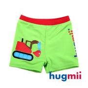 (hugmii) [] Hugmii รูปร่างเด็กขี้เล่นกางเกงว่ายน้ำ _ รถขุด