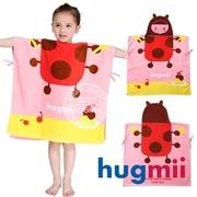 (hugmii) ผ้าเช็ดตัวเด็กสไตล์ขี้เล่น [Hugmii] _ Ladybug