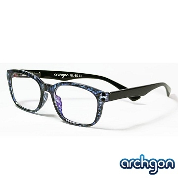 [TAITRA] Archgon Paris Fashion Style -Sapphire Blue Light Filter Glasses (GL-B111-B)