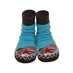 (Moccis) Moccis เต้นถุงเท้าเด็กวัยหัดเดินบูท - พี่ชายฉลาม