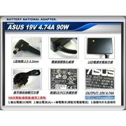 ASUS 19V, 4.74A, เครื่องชาร์จ 90W, U30, U32, U42, U43, U53, P52, P53, U1, U5, R1E, U36, U46, U56, U46JC, U46S,