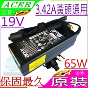 Acer Transformer-19V, 3.42A, 65W TravelMate 220, 230, 290, 292, 280, 330, 370, 380, 500, 530, 530 600, 620, 630, 800, 2300