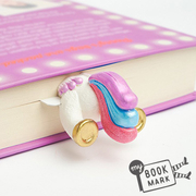 (MyBookmark)Gift myBookmark Hand Bookmarks - Fantasy Unicorn Tail