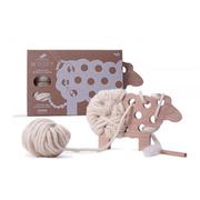 (法國Les Jouets Libres)France Les Jouets Libres my little sheep - threading Games