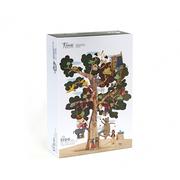 (西班牙Londji)Spain Londji Happy Tree House sided puzzle