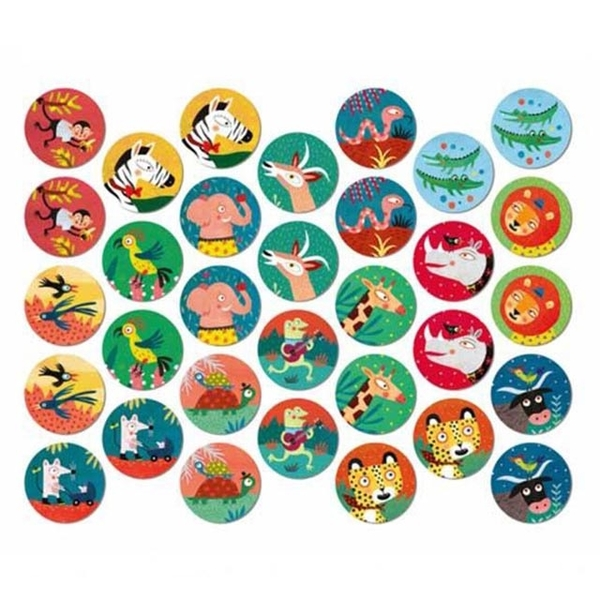 Spain Londji jungle party memory game