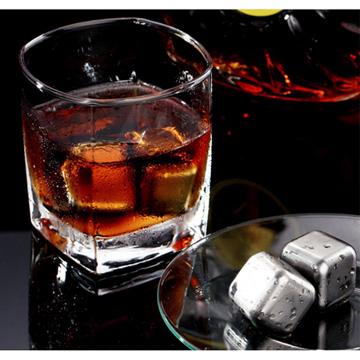 ก้อนน้ำแข็งสแตนเลส (เซต 8 ก้อน)