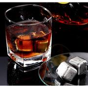 ก้อนน้ำแข็งสแตนเลส (เซต 6 ก้อน)