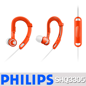 (PHILIPS) PHILIPS SHQ3305OR ActionFit Earphone Microphone