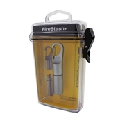 (TRUE UTILITY)FireStash + waterproof lighter key ring